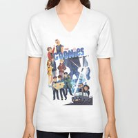 "the goonies V-neck T-shirts featuring The Goonies never say ""die"" ! by Collectif PinUp!"