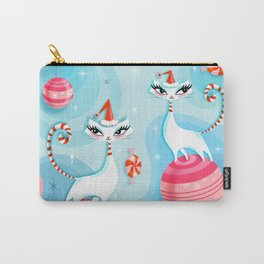 Mod Kitty Christmas Carry-All Pouch