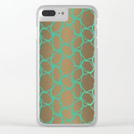 Rusty Aquatics Clear iPhone Case