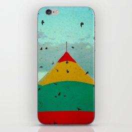 Circus Birds iPhone Skin