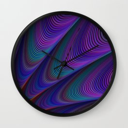 Dark dawn Wall Clock