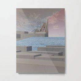 atmosphere 29 · Eternity Beton Memories Metal Print