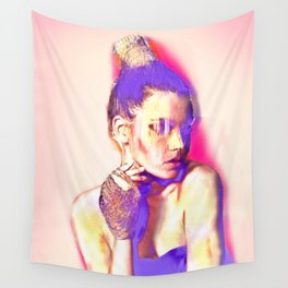 Glamour Glitch Wall Tapestry