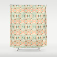Ethnic Moroccan Motifs Seamless Pattern 18 Shower Curtain