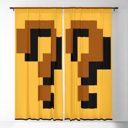 Super Mario question mark block Blackout Curtain