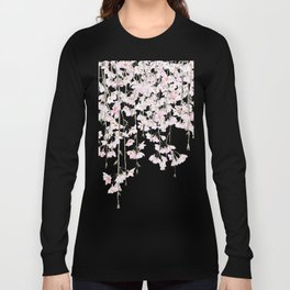 pink cherry blossom spring 2018 Long Sleeve T-shirt