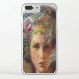 Rhapsody in Paint Clear iPhone Case