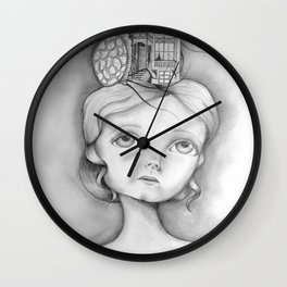 San Francisco, mon amour Wall Clock