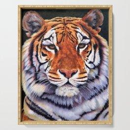 Tiger Sultan of Siberia Serving Tray