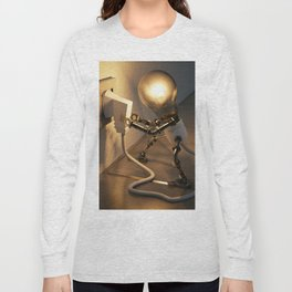 Light Bulb Plug Long Sleeve T-shirt