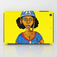 captain iPad Cases featuring Captain by N3RDS+INK