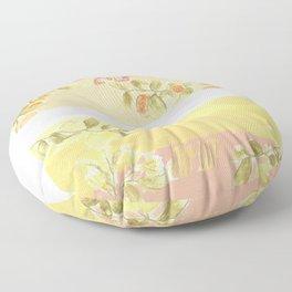 Sunrise Lovers Floor Pillow