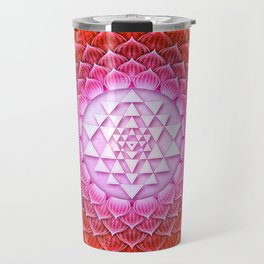 Sri Yantra Lotus II Travel Mug