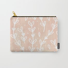 Blush Vines Carry-All Pouch