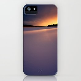 Sunset. iPhone Case