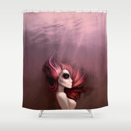 never forgotten / time Shower Curtain