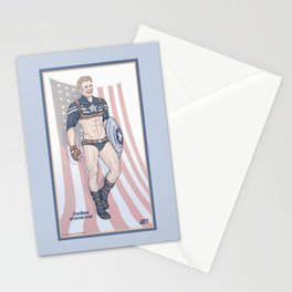 Steve Rogers Not So Stealth Suit Stationery Cards
