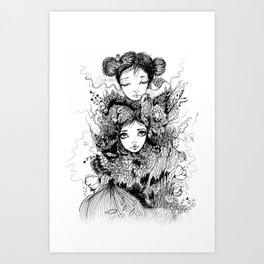 Aliadas Art Print