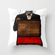 Old Scratch Throw Pillow