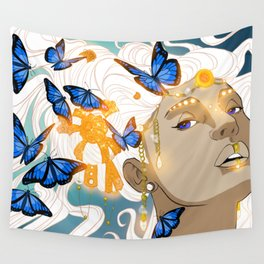 Butterflies Amazon Wall Tapestry