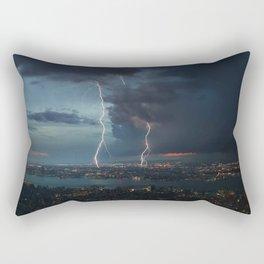 NYC lighting #society6 #decor #buyart Rectangular Pillow