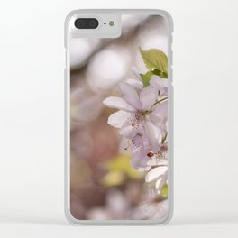 Springblossoms at backlight Clear iPhone Case