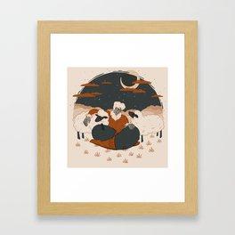 Sheep Pals Framed Art Print