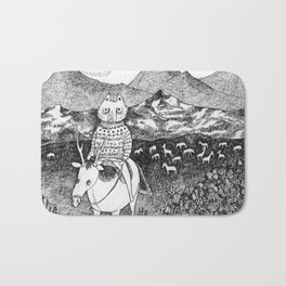 Sami fox Bath Mat