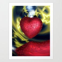 Heart_2 Art Print