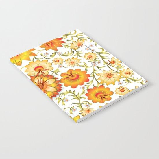 Shabby flowers #13 Notebook