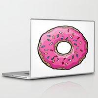 doughnut Laptop & iPad Skins featuring doughnut queen by Islawillbaby