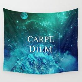 CARPE DIEM GEOMETRY Wall Tapestry