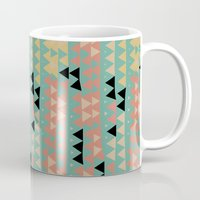triangles Mugs featuring triangles by spinL