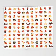 The Boys Are Back In Town Throw Blanket
