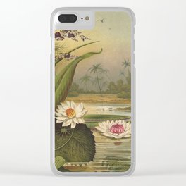 Water Plants Clear iPhone Case