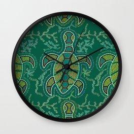 Caribbean Tortuga Wall Clock