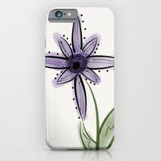 purple flower iPhone 6s Slim Case