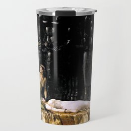 The Death Of Cleopatra Travel Mug