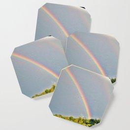 Double Rainbow 3 Coaster