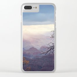 Breaking the Darkness Clear iPhone Case