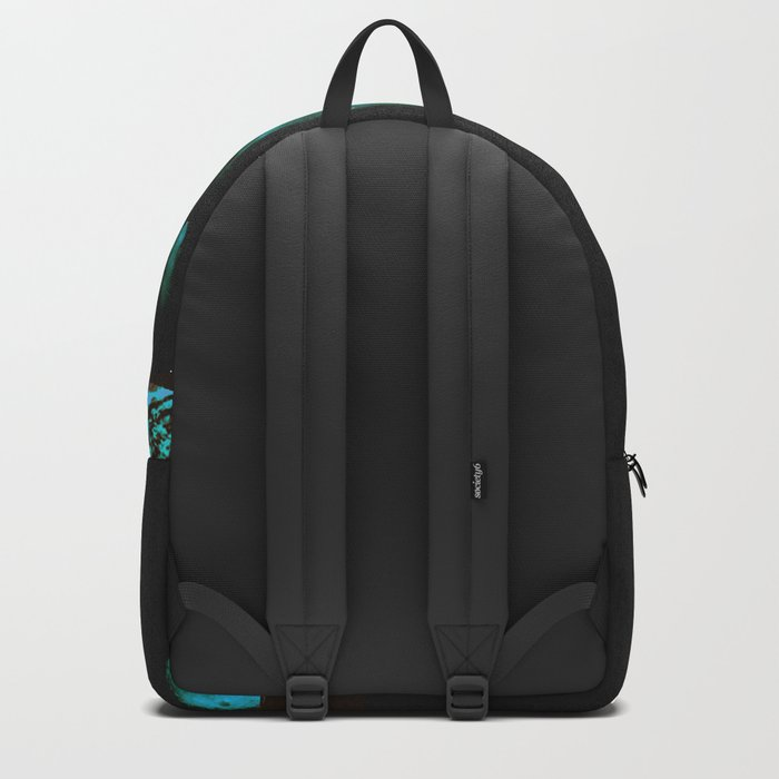 magician of seas - turquoise Backpack