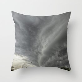 Cloud Wall Turning Throw Pillow