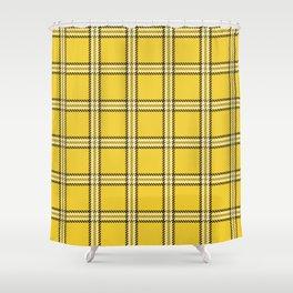 Clueless Plaid Shower Curtain