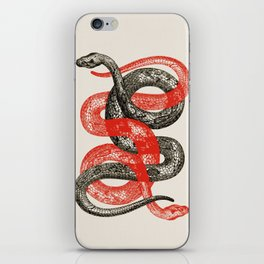 Twin Snakes iPhone Skin