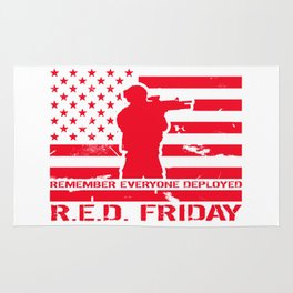 RED Friday Rug