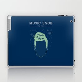 The Higher, The Fly-er — Music Snob Tip #074 Laptop & iPad Skin