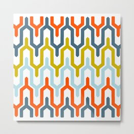 Multi-colored Pattern Metal Print