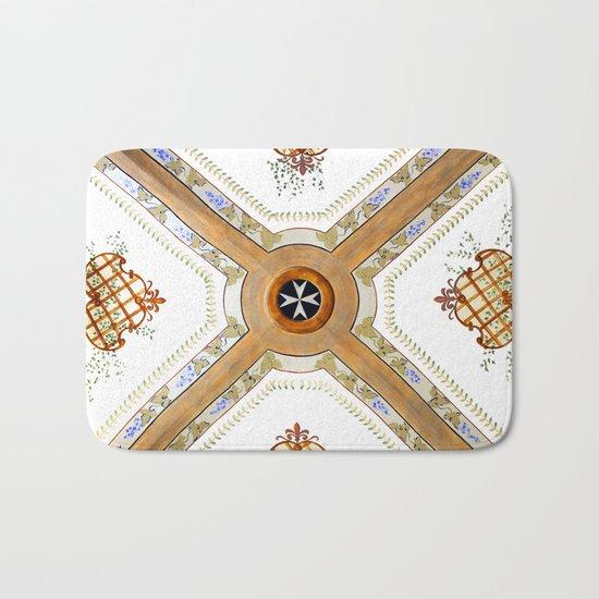 A Glass Ceiling Bath Mat