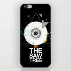 The saw tree iPhone & iPod Skin