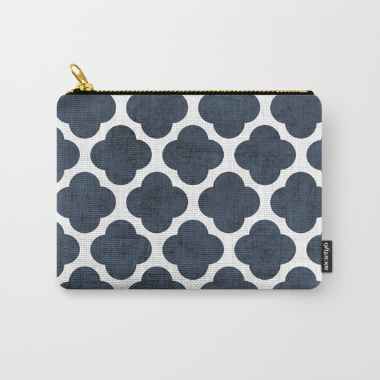 navy clover Carry-All Pouch